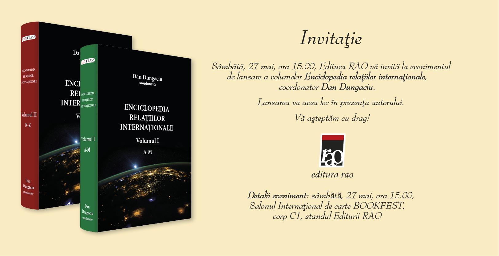Invitatie Enciclopedia Relatiilor Internationale (1)