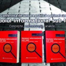 Lansarea cărții LARICS: Războiul informațional sub lupă – concepte, metodologie, analize