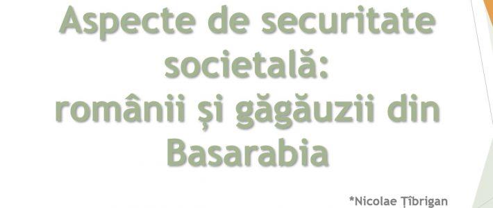Aspecte de securitate societală: românii și găgăuzii din Basarabia